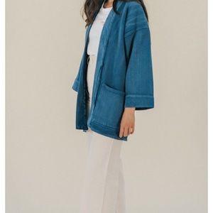 NWT Levi's Kimono Jean Jacket Size 0